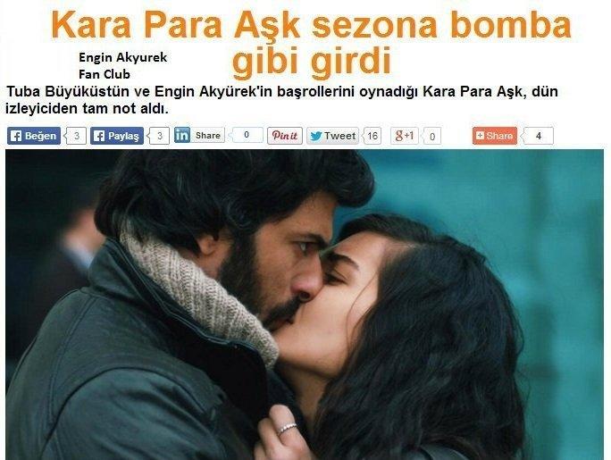 Kara para aşk грязные деньги и любовь