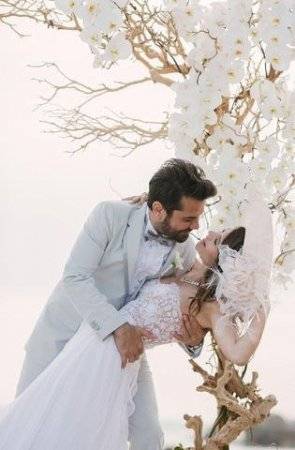 Ексклюзив: свадьба Берен Саат и Кенана Догулу
