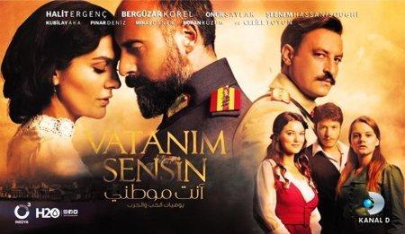 Турецкий сериал: Ты моя Родина / Vatanım Sensin (2016)