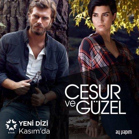 Постер сериала «Отважный и Красавица / Cesur ve Guzel»