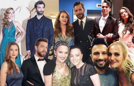 Турецкие знаменитости на красной дорожке
