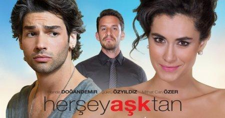 Турецкий фильм: Всё от любви / Всё из-за любви / Her Sey Asktan (2016)