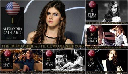 Турецкие актрисы вошедшие в ТОП-100 самых красивых женщин мира