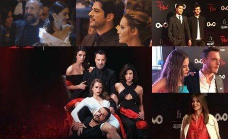 Турецкие звезды на премьере сериала