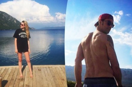 Сарп Левендоглу и Дерья Шенсой отдыхают в Дании