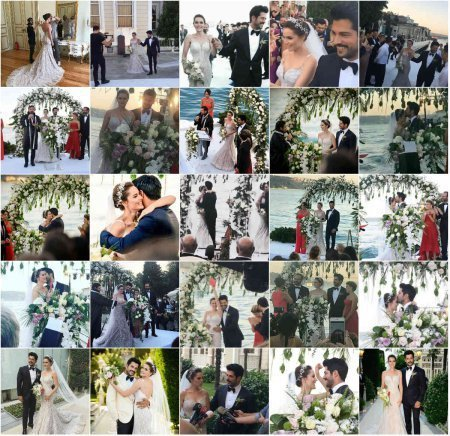 Свадьба Бурака Озчивита и Фахрийе Эвджен