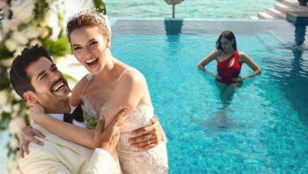 Медовый месяц Бурака Озчивита и Фахрийе Эвджен