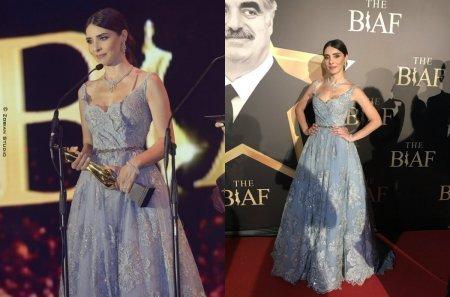 Нур Феттахоглу получила награду в Бейруте