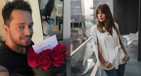 Аслы Энвер послала цветы для Мурата Боза