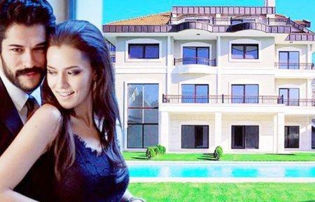 Бурак Озчивит и Фахрийе Эвджен переезжают в новый дом