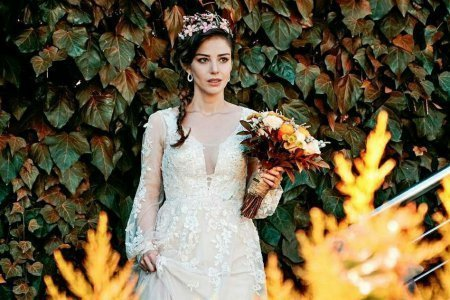 Стоимость и модель свадебного платья Назлы