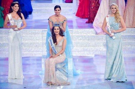 После долгих 17-ти лет, Индия вновь завоевала корону на конкурсе красоты -  ...