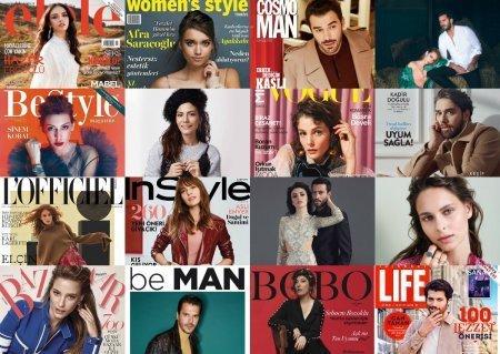 Турецкие звезды в ноябрьских выпусках журналов