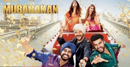 Индийский фильм: Mubarakan / Совет да любовь (2017)