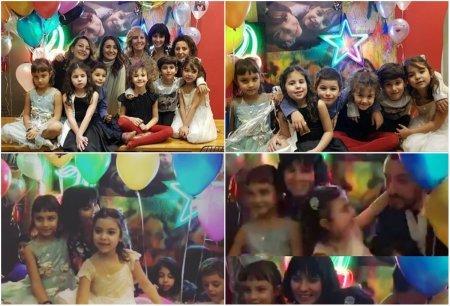 Туба Бюйюкюстюн и Онур Сайлак вместе отметили день рождения дочек