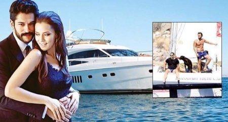 Бурак Озчивит купил новую яхту