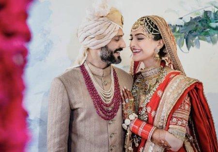 Сонам Капур и Ананд Ахуджа поженились