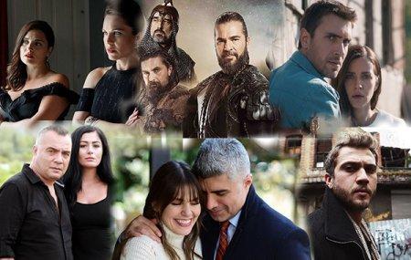 Самые освещаемые турецкие сериалы в мае 2018