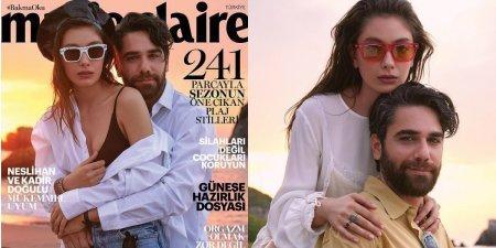 Интервью Кадира Догулу и Неслихан Атагюль для Marie Claire
