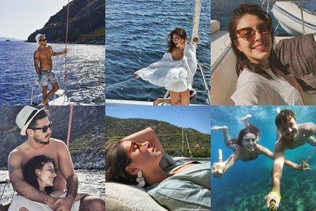 Турецкие звезды на отдыхе