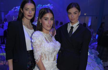 Хазал Кайя, Елена Темникова и Марина Александрова встретились в Лондоне