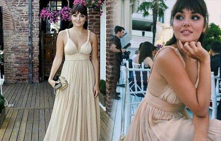 Ханде Эрчел раскритиковали за платье