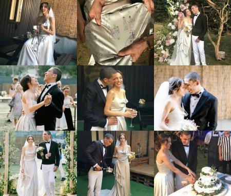 Джан Бономо и Ойкю Караэль поженились