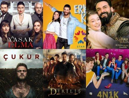 Самые освещаемые турецкие сериалы в июле 2018