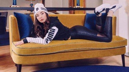 Неслихан Атагюль в рекламе Puma