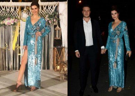 Турецкие звезды на свадьбе Джема Озета и Мюжгян Шенсой