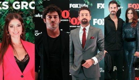 Турецкие звезды на вечеринке телеканала Fox