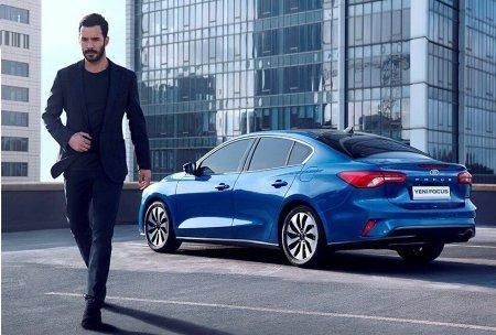 Барыш Ардуч в рекламе Ford
