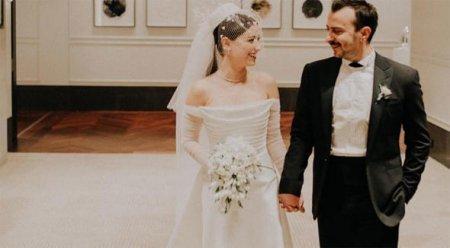 Хазал Кая и Али Атай поженились