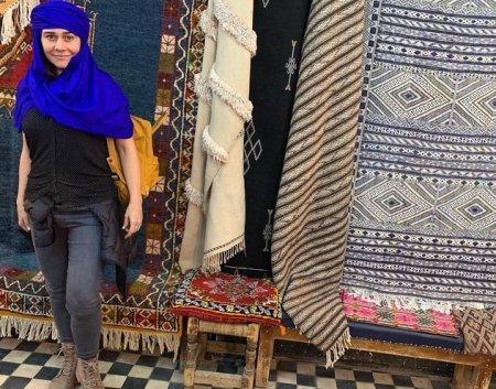 Алессандра Негрини наслаждается каникулами в Марокко