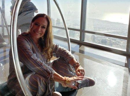Сюзана Виейра отдыхает в Дубае