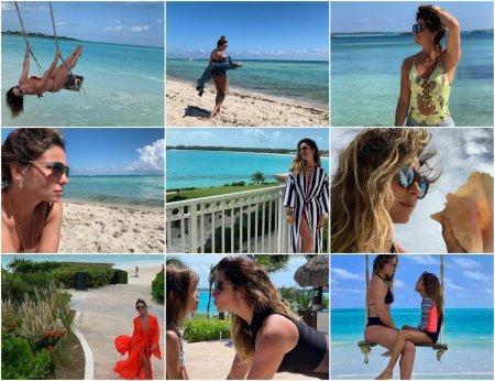 Джованна Антонелли отдыхает на Багамах