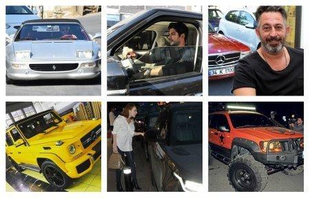 На каких машинах ездят турецкие звезды