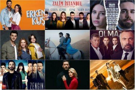 Рейтинги турецких сериалов с 15.04 - 21.04 2019