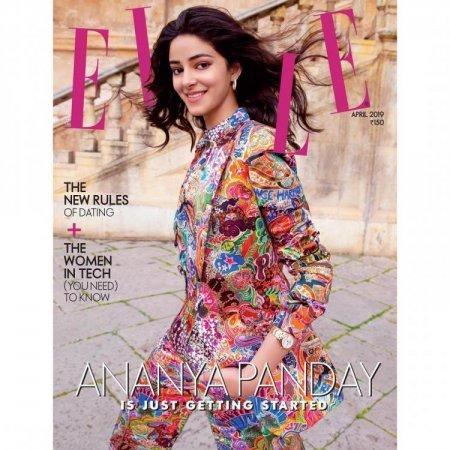 Ананья Пандей впервые появилась на обложке журнала