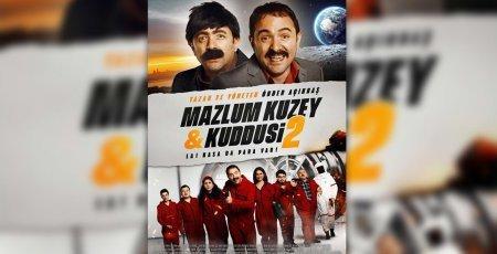 Турецкий фильм: Мазлум Кузей-2  / Mazlum Kuzey & Kuddusi 2: La! Kasada Para Var (2019)