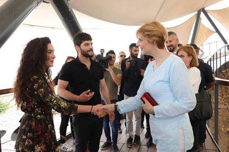"""Румынская принцесса Мария встретилась с """"Ветреным"""""""