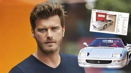 Кыванч Татлытуг продает свой роскошный автомобиль