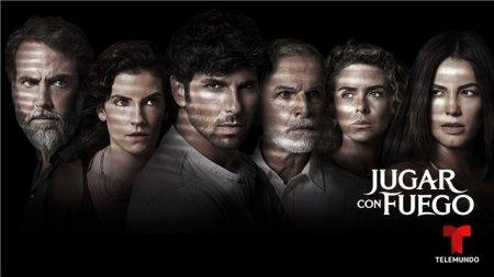 Латиноамериканский сериал: Игра с огнем / Jugar con fuego (2019)