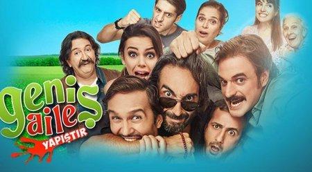 Турецкий фильм: Большая семья: Влепи / Genis Aile Yapistir (2015)