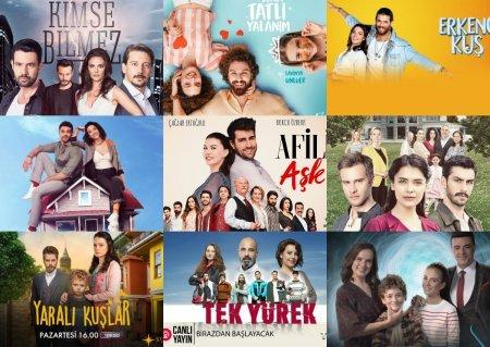 Рейтинги турецких сериалов с 01.07 - 07.07 2019