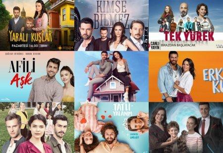 Рейтинги турецких сериалов с 08.07 - 14.07 2019