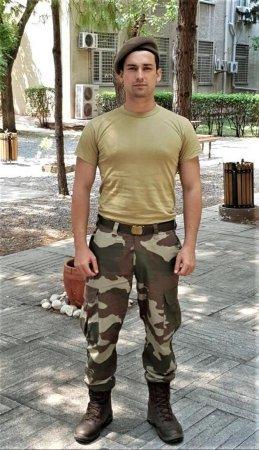 Альп Навруз в армии