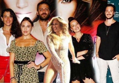 Турецкие звезды на концерте Дженнифер Лопес