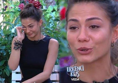 Демет Оздемир не смогла сдержать слез