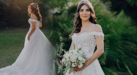 Свадебный образ Дениз Байсал